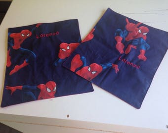 Personalized canteen pattern Spiderman towel
