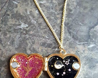 Loving heart pendant
