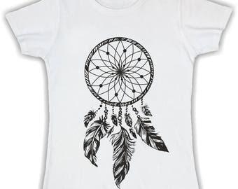 Women's Basic t shirt Dreamcatcher