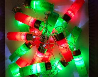 Shotgun Cartridge Lights - Red & Green