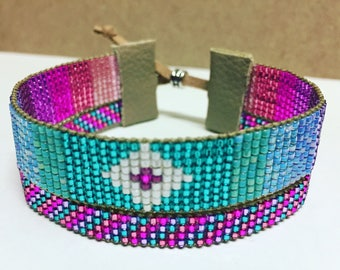 Native American Inspired Beaded Bracelet Set