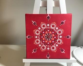 Mandala- dot art