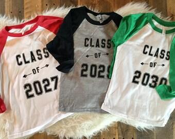 Class of 2029 shirt, kindergarten class shirt, school shirt, class of shirt, kindergarten boy shirt, graduation shirt, graduation kids shirt
