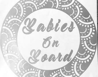 Babies on board