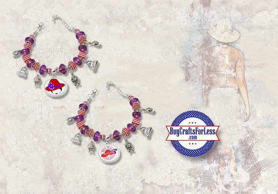 RED HAT, Red Hat Society Bracelet, 2 styles **FREE SHiPPiNG**