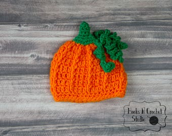 Preemie pumpkin hat, newborn pumpkin hat, newborn pumpkin, newborn halloween hat, preemie halloween hat,newborn girl pumpkin,preemie pumpkin