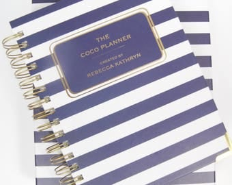 The Coco Planner Daily, 12 Month Diary 2017-2018, Mid Year Academic Planner