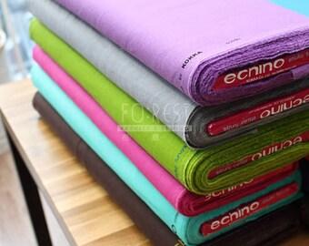 Echino cotton linen Japanese Fabric Solid Fabric - 50cm