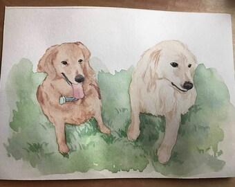 Best Friend Gift, Best Friend Birthday Gift, Best Friend Portrait, Best Friend Custom Portrait, Gift for Best Friend, Best Friend Gift Idea