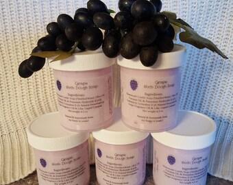 Grape Bath Dough Soap for Kids