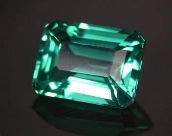 Very nice 11.02 ctw. paraiba apatite loose gemstone.