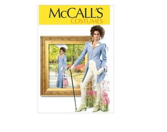 McCall's 7140 - Ruffled Jacket, Skirt and Tournure Pattern