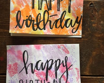 Assorted birthday cards Etsy