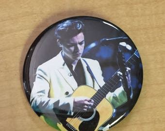 HARRY STYLES-2.25 inch Pinback Button-Custom/New-Two Ghosts