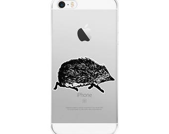 Love Cute Hedgehog Gift Hedgehogs Lover Wildlife  iPhone Case Iphone 5 6 7 8 X