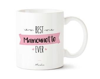 Mug for MOM Best Mamounette ever, best MOM, MOM, future Mug gift mug, pregnancy gift