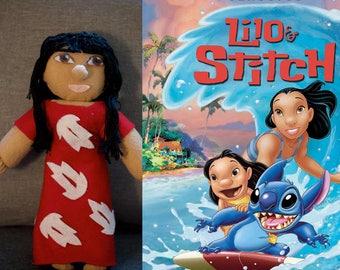 Handmade Lilo Doll (Lilo and Stitch)