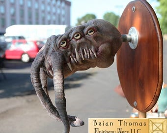 Thulu OOAK trophy head