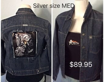 Freedom ride or die size Med  Silver