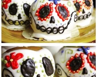 Day of The Dead / Dia de Los Muertos Candy Apples