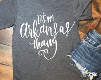 Its an Arkansas Thang • Bella Canvas