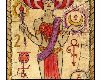 Tarot Reading: 10 card (Celtic Cross spread)