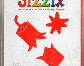 Fireworks Sizzix Die Cutter Scrapbook Embellishments Cardmaking Crafts