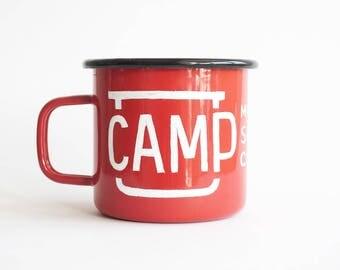 C.M.S.C. Enamel Mug
