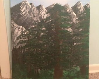 Wooded Mountains