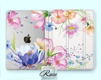 flowers iPad floral case flower iPad case floral case iPad case iPad pro 9 7 case iPad pro 12 9 2017 ipad case 2017 ipad cover iPad flip air