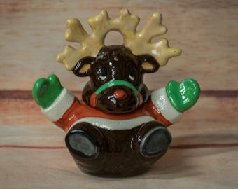 Reindeer Candy Dish