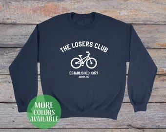 The Losers Club sweatshirt, It Sweatshirt, The Losers Club shirt, Stephen Kings It, Pennywise Sweatshirt, Tumblr