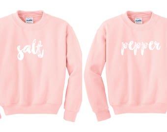 Best friend sweater, best friend pullover, BFF jumper, Bff Pullover, Couples Sweater, Bff Sweater, duo sweatshirts, bff shirt set
