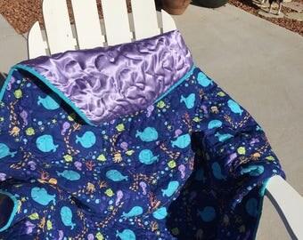 Custom Baby Blanket; Custom baby quilt