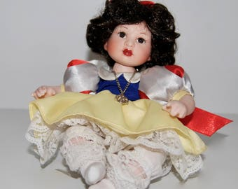 Baby Snow White Tiny Tot Doll by Marie Osmond