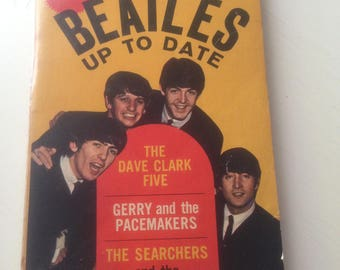 The Beatles Up to Date - Vintage Paperback 1964