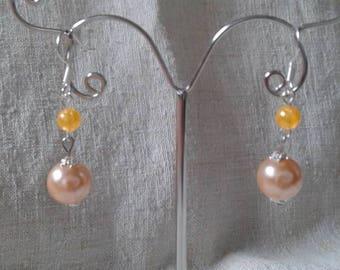 """""""beautiful pearls duo"""" earrings"""