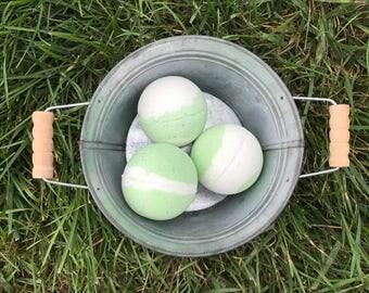 Lime Margarita bath bomb - 8oz - xlarge bath bomb - bath fizzy