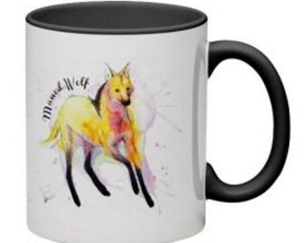 Maned Wolf Mug