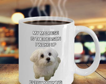 Maltese Mug Dog Owners Love Coffee Mugs Gift