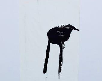 Abstract Art, Wrong shapes (original painting), Rottenman editions