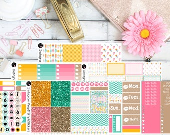 Summertime Sweetie Planner Stickers