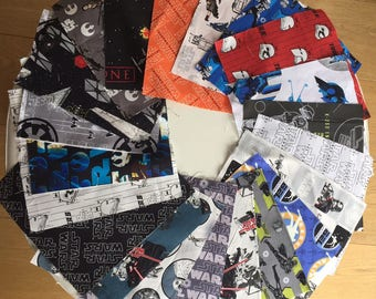 21 child STAR WARS quilt fabric coupon