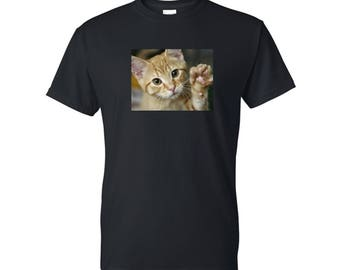 Photo Tee. Personalized tshirt. Personalized shirt. Pet Lover. Cat. Gifts for Grandparents. Dog Shirt. Cat tshirt. Cat Shirt. Picture Shirt