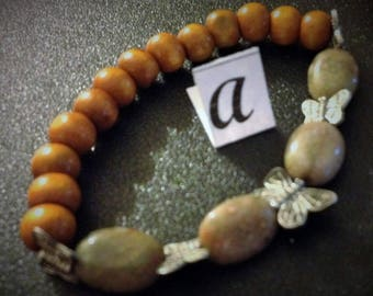 Autumn Jasper genuine gemstone jewelry