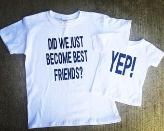 Best friends single shirt order