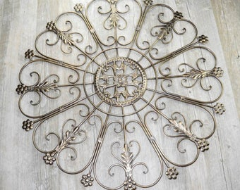 Bridget Curlicue Metal Wall Art