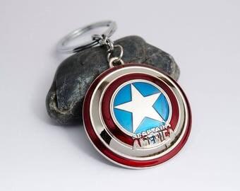 Marvel The Avengers keychain - Captain America keychain - Thor keychain - Iron Man keychain - Hulk keychain