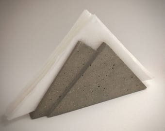 Shpitz - Concrete Napkin Holder