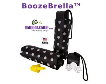 BoozeBrella by Smuggle Mug. Disguised Umbrella Flask. Free Shipping!